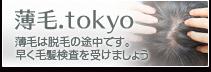 薄毛.tokyo